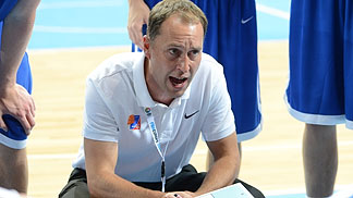 Coach Petr Czudek (Czech Republic)
