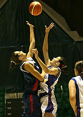 U16 European Championship Women 2005 - Serbia & Montenegro vs. France