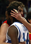 14. Ronny Turiaf (France), 4. Pau Gasol (Spain)