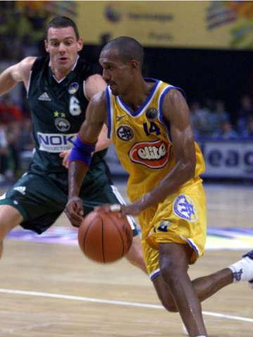Anthony McDonald (Maccabi Tel Aviv), Michael Koch (Panathinaikos)