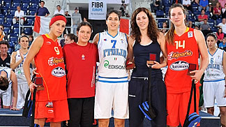 All Tournament Team, U18 European Championship Women 2010