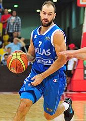 Vasileios Spanoulis, Greece, Olympic Qualifying Tournament
