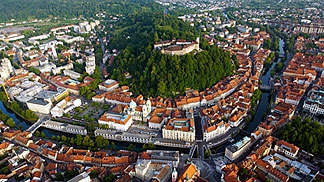 A view on Ljubljana