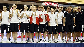 U20 European Championship Women 2011 Bronze Medalists Poland