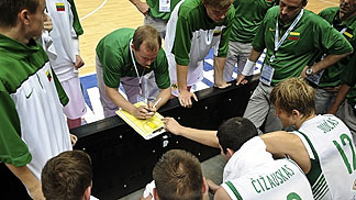 Lithuania Head Coach Kazys Maskvytis