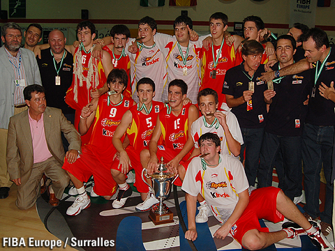 Gold Medalist Spain
