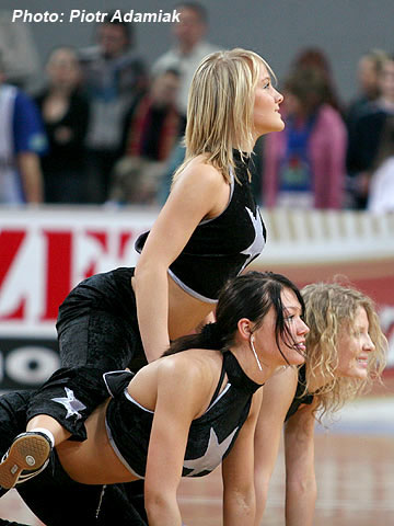 Cheerleaders of Anwil Wloclawek