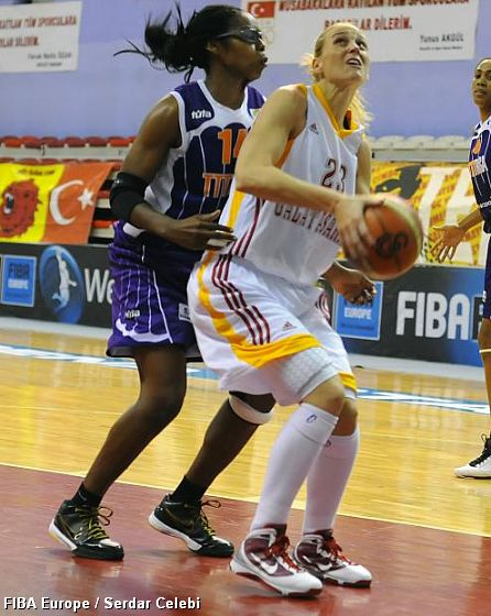 Katie DOUGLAS (Galatasaray), Lisa WILLIS (TTT Riga)