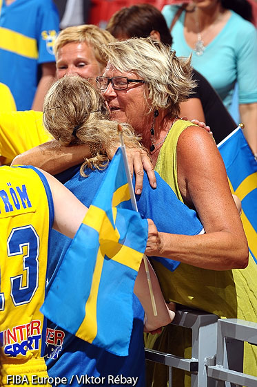 Fan of Sweden