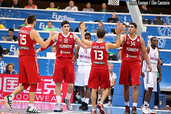 8. Ersan Ilyasova (Turkey), 14. Enes Kanter (Turkey)