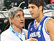 Panagiotis Yannakis (Head Coach) and Panagiotis Vasilopoulos (Greece)