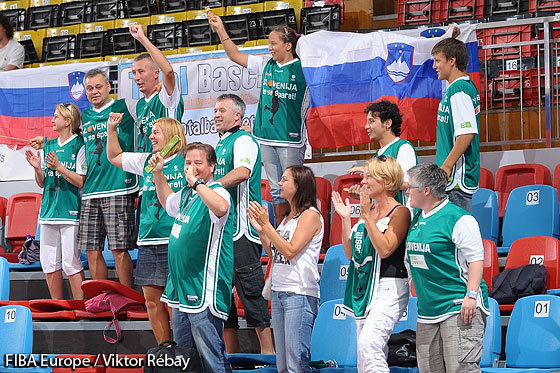 Fans of Slovenia