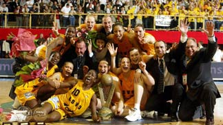 Winner of the 2004 FIBA EuroLeague Women: US Valenciennes Olympic