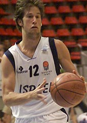 Niv Berkowitz (Israel) had 22 points and 5 steals against Bulgaria