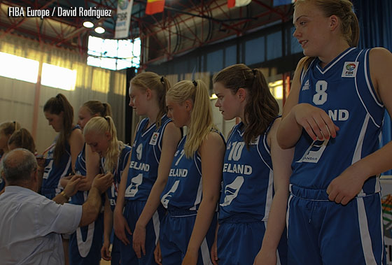 Iceland are crowned champions at the 2012 European Championship Women Division C
