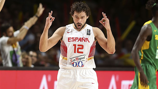 Gasols, Mirotic On Powerful Spain Roster