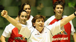 Yolanda Mijares, Assistant Coach, Spain