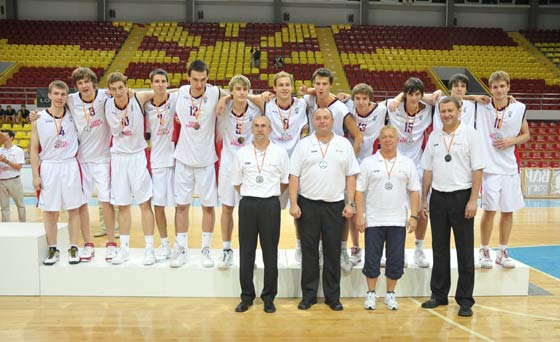 Czech Republic: Silver medallists 2009 U20 European Championship Men, Division B