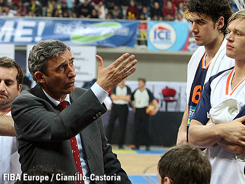 Svetislav Pesic, head coach Europe