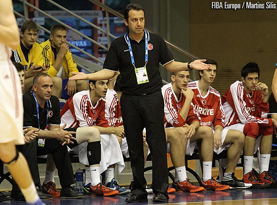 Turkey head coach Taner Günay