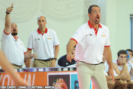 Spain coach Juan Antonio Orenga