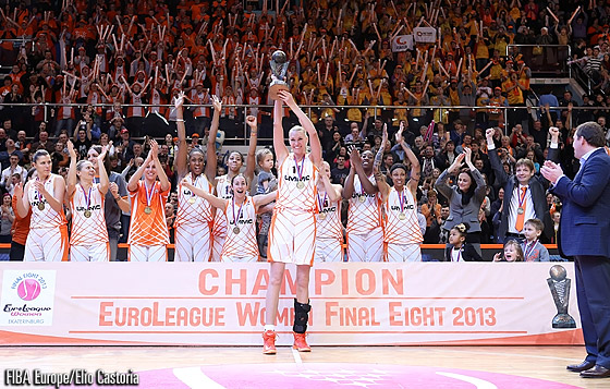 2013 EuroLeague Women champions UMMC Ekaterinburg
