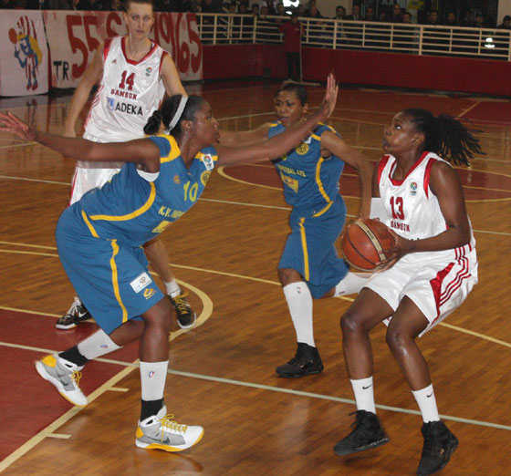 13. Quianna Chaney (Samsun Basketball)