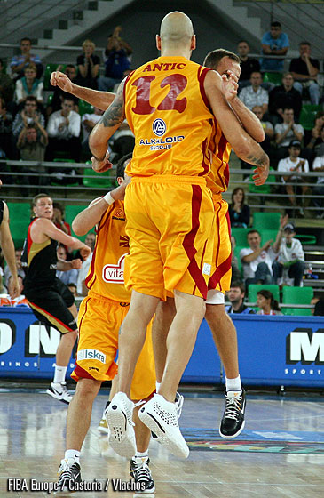 Pero Antic (F.Y.R. of Macedonia), Vrbica Stefanov (F.Y.R. of Macedonia)
