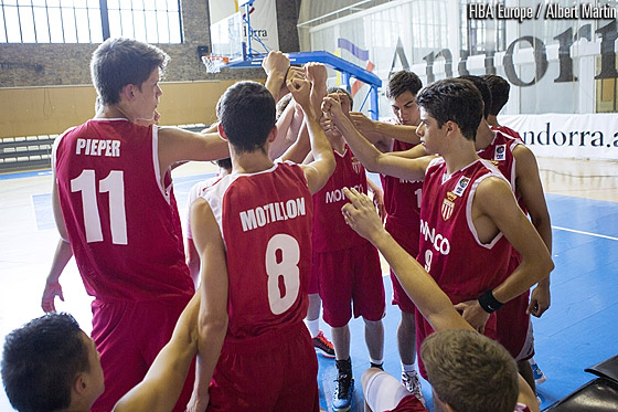 The Principality of Monaco finish fourth at the U18 European Championship Division C