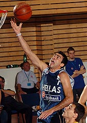 Konstantinos Vasileiadis' 33 points were not enough for Greece to beat Lithuania