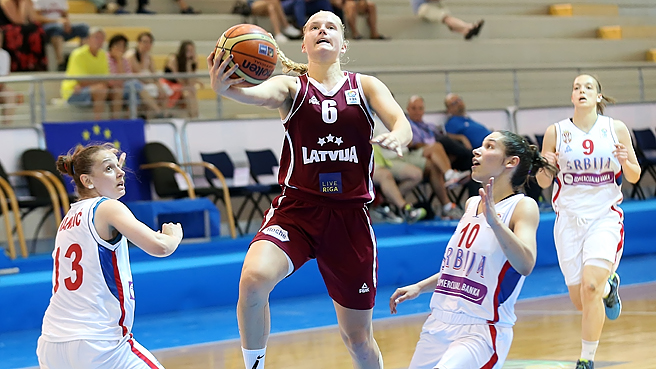 Latvia Land Fifth After Pipping Poland