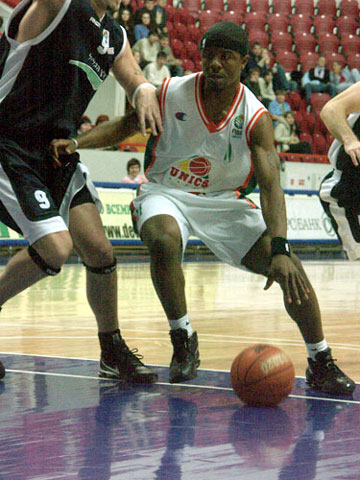 Paul Murphy Shirley (UNICS Kazan)
