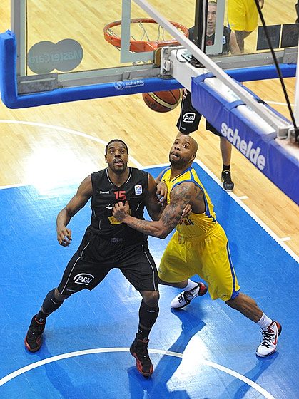 15. Brandon Hunter (BK Ventspils), 15. William Thomas (BC Oostende)
