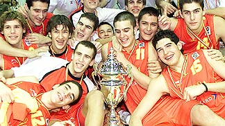 European Champion U18 Men 2004: Spain