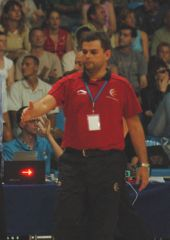 Spanish Head Coach Alberto Ortego