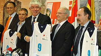 FIBA Europe Head of Operations Miguel Betancor at the Leon 3on3 Press Conference