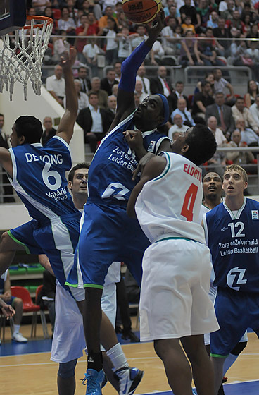 11. Monta Mc Ghee (Leiden Basketball)
