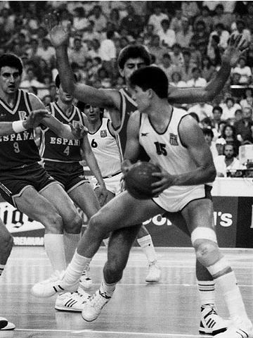 Fanis Christodoulou (GRE) at the 1987 European Championship in Greece