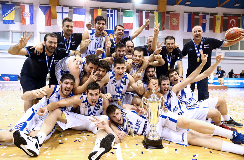 2015 U18 European champions Greece