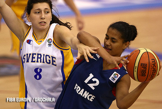 Florine Basque (France, right), Afroditi Kalidis (Sweden)