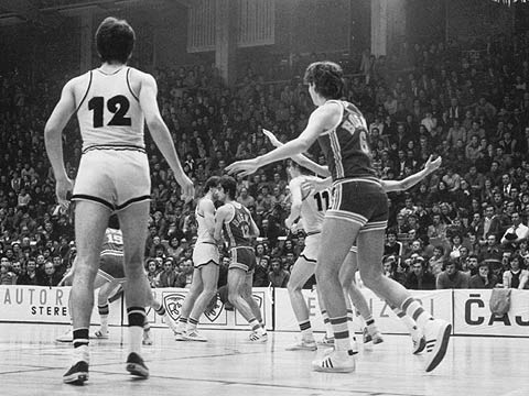 The 1978 Korac Cup Final - KK Partizan (YUG) vs KK Bosna (YUG)