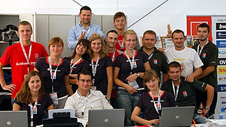 Volunteers in Gdansk during the Preliminary Round of Eurobasket 2009