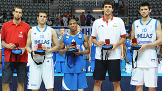 U20 European Championship Men 2010 - All Tournament Team