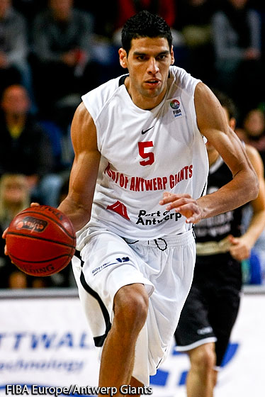 5. Salah Mejri (Antwerp Giants)
