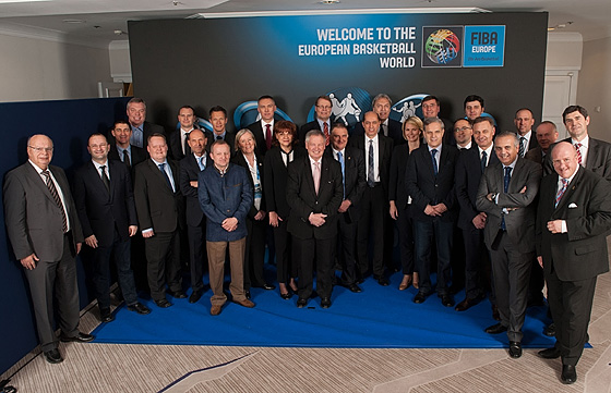 The Board of FIBA Europe term of office 2014-2018
