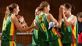 Lithuania Celebrate Their First Win