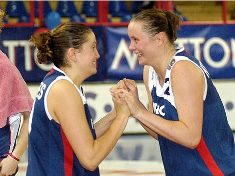 Pauline Krawczyk (France) and Julie Barennes (France)