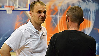 Dusan Gvozdic, Belarus head coach (photo: bbf.by)