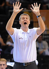 Latvia Head Coach Ainars Bagatskis
