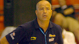 Spanish Head Coach Javier Imbroda
